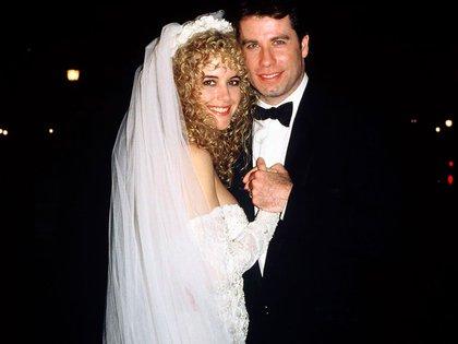 John Travolta y Kelly Preston se casaron el 5 de septiembre de 1991 en el Hotel Crillon, ubicado en la Place de la Concorde en París