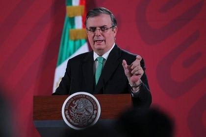 Marcelo Ebrard destacó que la cadena de producción será latinoamericana. (Foto: Isaías Hernández/Notimex)