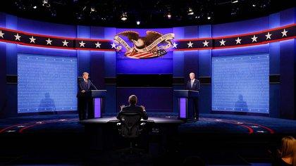 El debate duró una hora y media