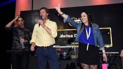 Melisa Di Franco se llevó un viaje a Aruba para dos personas (aéreos + estadía)