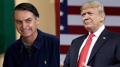 Muchos analistas comparan a Bolsonaro con Donald Trump (Reuters)