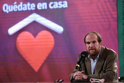 Ruy López Ridaura señaló que López-Gatell se encuentra bien (Foto: Europa Press)