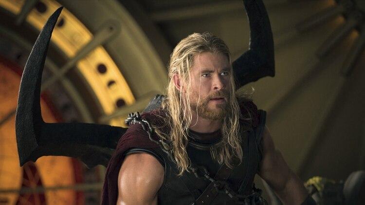 Marvel Studios Thor: Ragnarok..Thor (Chris Hemsworth)..Photo: Jasin Boland..©Marvel Studios 2017