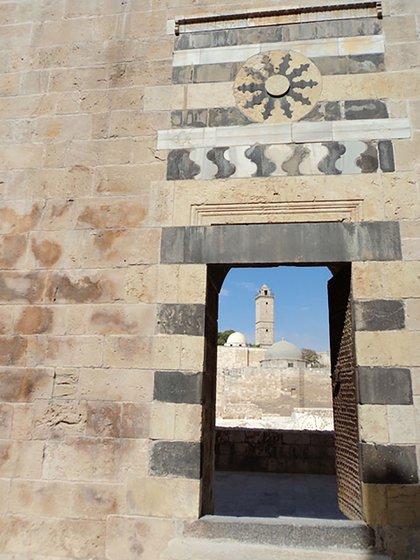 Una imagen que tomó la autora en la Ciudadela de Aleppo en octubre de 2010, un lugar completamente destruido en la actualidad