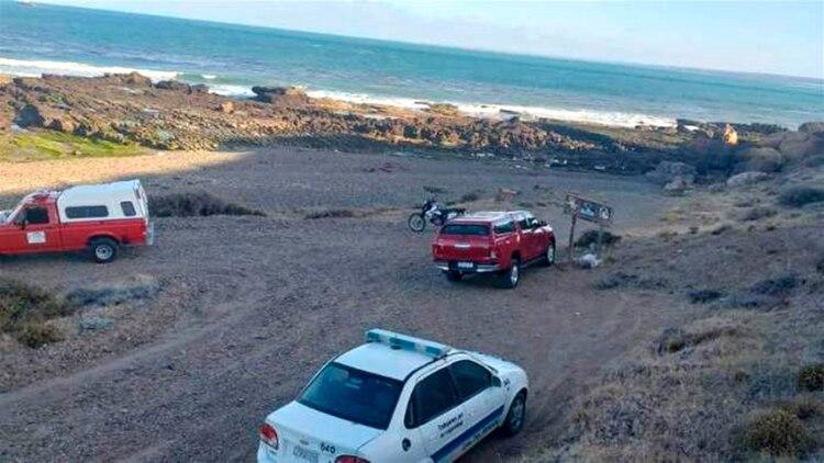 Punta Cavendich, el sitio donde se produjo el ataque sexual.