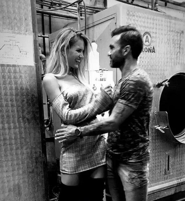 Cubero y un provocativo video con la ex de Facundo Moyano