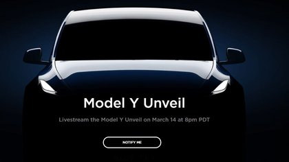 Este nuevo modelo será similar a la parte frontal del automóvil del vehículo X. Foto: captura de pantalla de la página de Tesla)