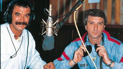 Mauro Viale junto a Rolando Hanglin