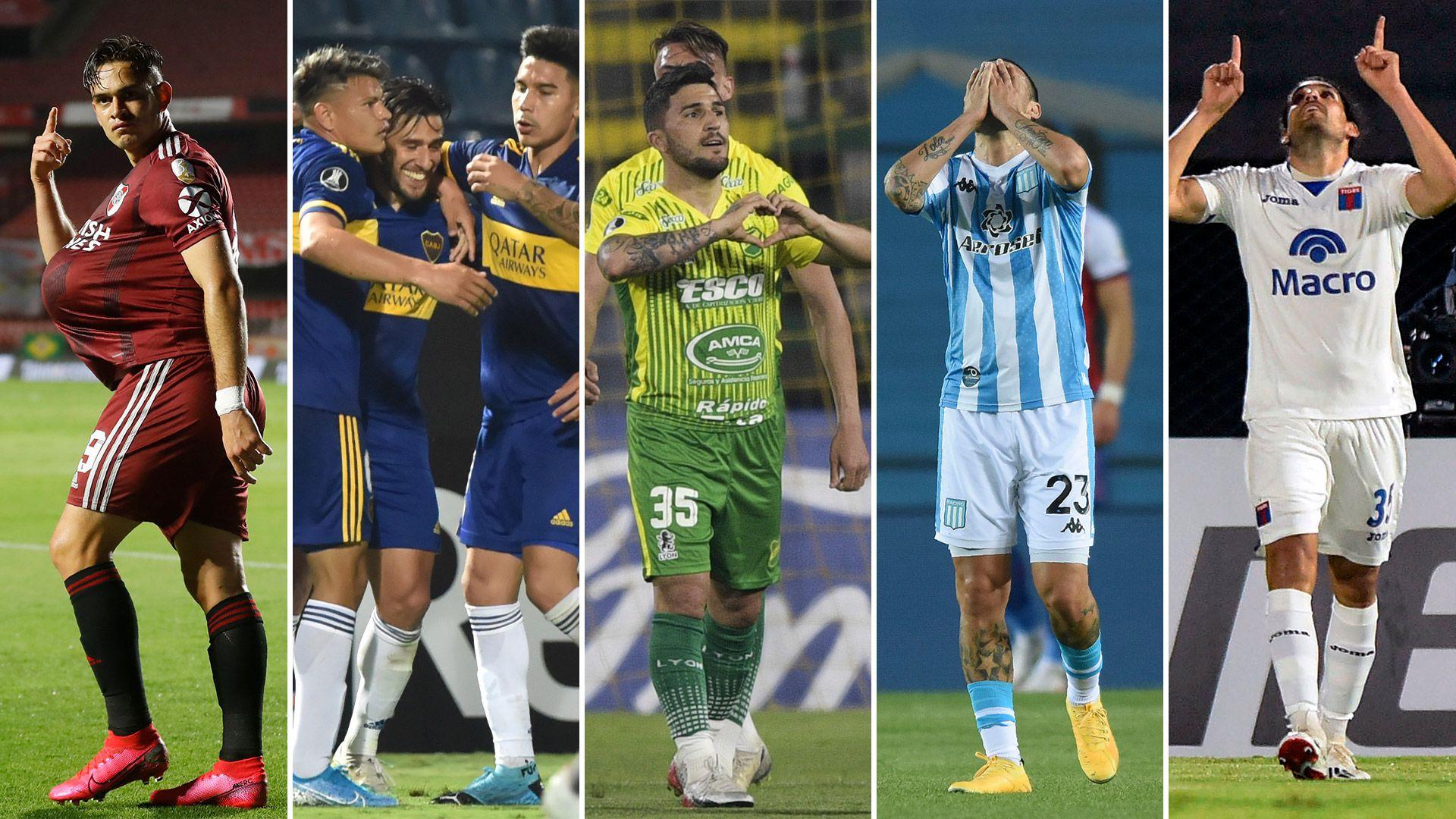 equipos argentinos copa libertadores
