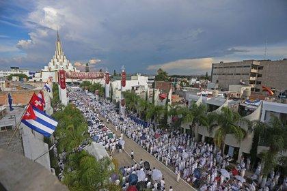 La iglesia La Luz del Mundo, en Guadalajara, Jalisco (México) (Foto: FERNANDO CARRANZA GARCIA / CUARTOSCURO)