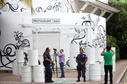 """El restaurante en Puerto Vallarta donde fueron secuestrados """"los chapitos"""" (Foto: EFE)"""