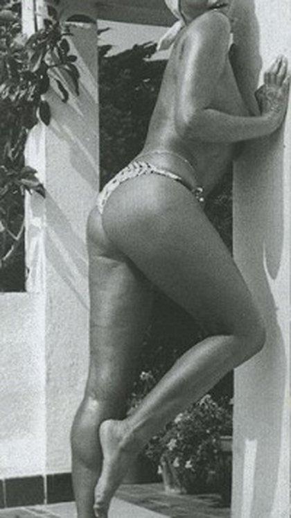 Anna Fallarino fotografiada por su marido