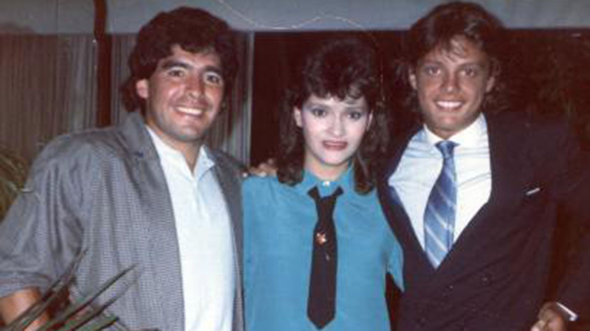 Diego Maradona estuvo con Luis Miguel
