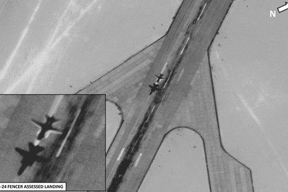 Fotografía del Mando África de EEUU (AFRICOM) denunciando la presencia de aviones rusos en Libia COURTESY PHOTO US AFRICA COMMAND (AFRICOM)