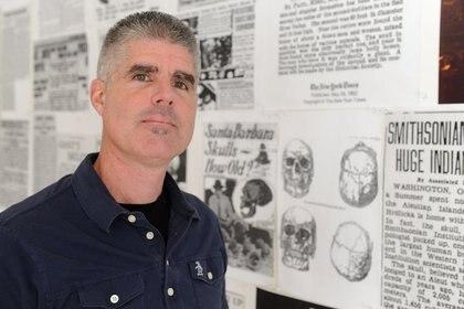 """Jim Vieira, un reconocido """"cazador de gigantes"""" (Recorder/Paul Franz)"""