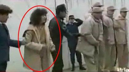 La joven era la única mujer en una cárcel de máxima seguridad para hombres (Foto: captura de pantalla/ YouTube @rux mux)