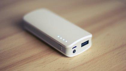 Las baterías externas sirven de auxilio para cuando el equipo se queda sin carga