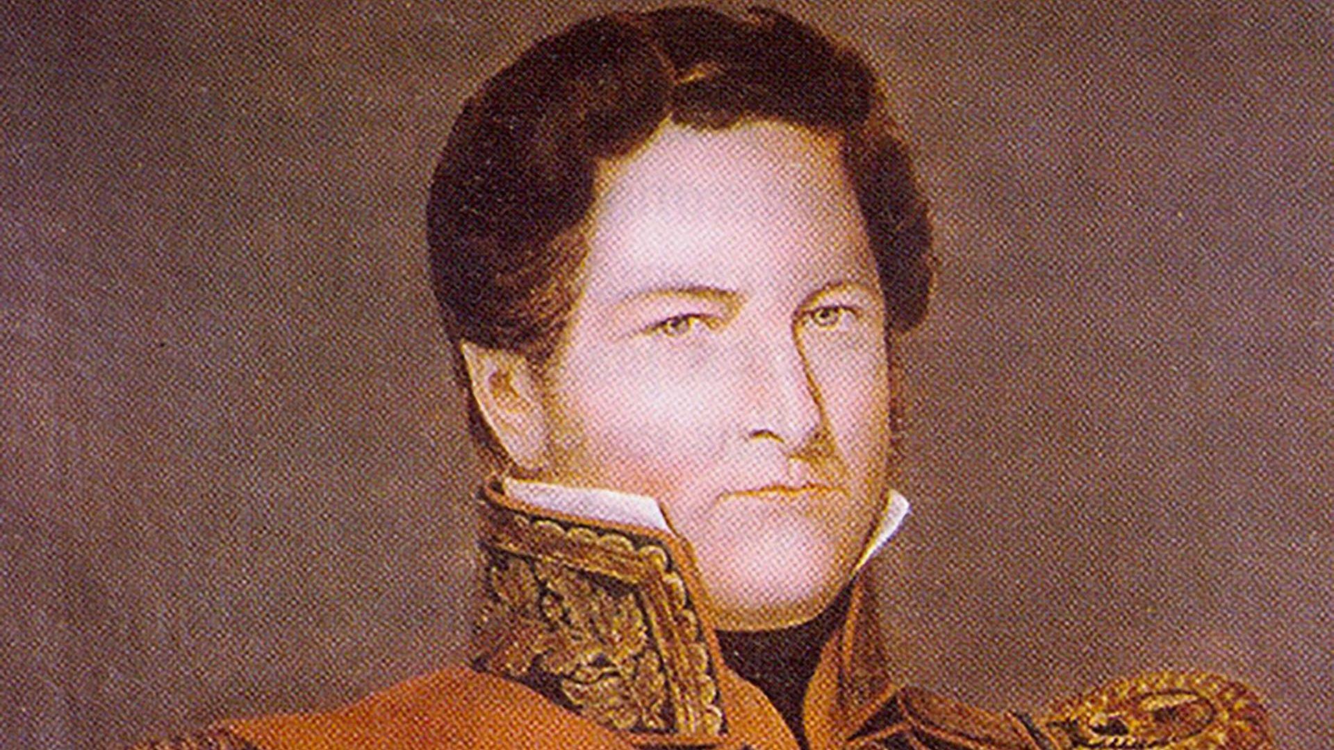 Juan Manuel de Rosas fue gobernador de Buenos Aires y el principal caudillo de la Confederación Argentina