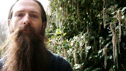 Aubrey de Grey es biogerontólogo y tiene un doctorado de la Universidad de Cambridge (Photo by Roland Kemp/Shutterstock (638872e)