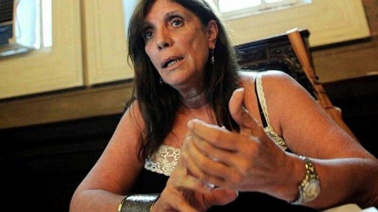 La ministra de Gobierno de la Provincia de Buenos Aires, María Teresa García (Télam)
