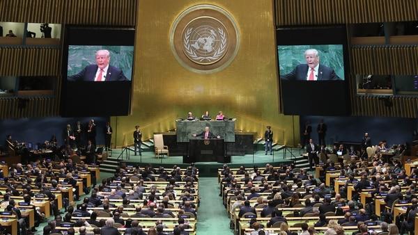 La Asamblea General de la ONU de 2018 (AFP)