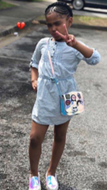Secoriea Turner tenía ocho años (Foto: Twitter@wsbtv)