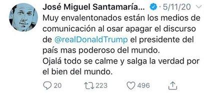 Trino de Santamaría.