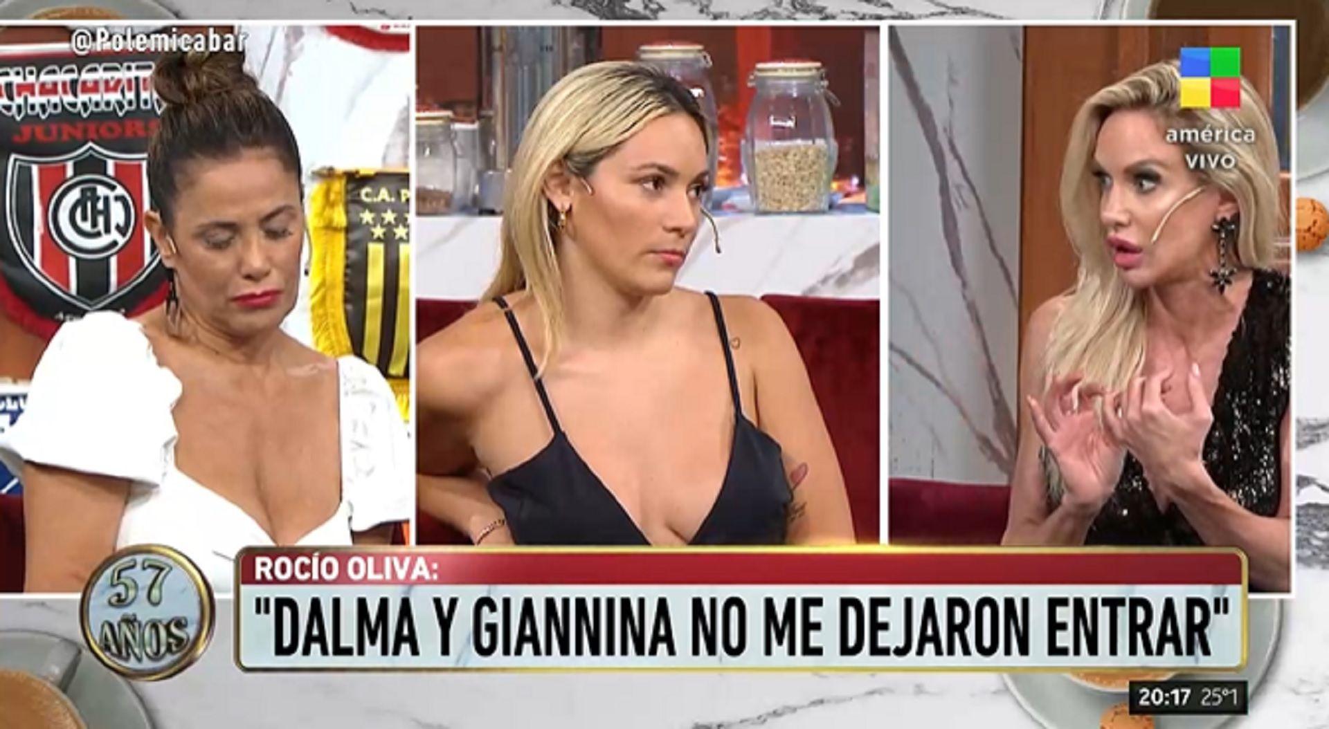 """Fuerte cruce en """"Polémica en el bar"""" entre Rocío Oliva, María Fernada Callejón y Luciana Salazar"""