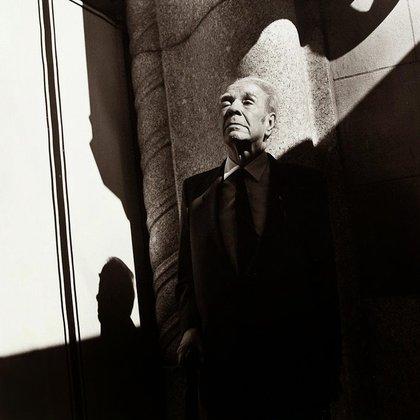 Jorge Luis Borges (Foto de Sylvia Plachy)