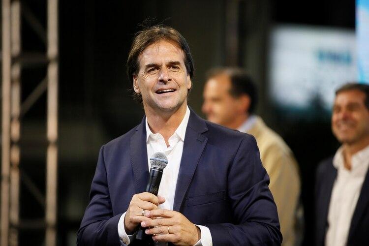 El presidente electo de Uruguay, Luis Lacalle Pou (Reuters)