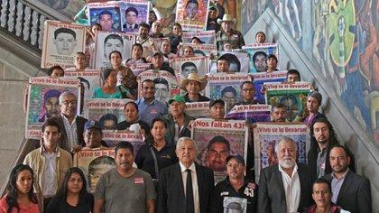 El gobierno de AMLO reabrió el caso, como había prometido en campaña, para investigar lo que verdaderamente sucedió en 2014 (Foto: Presidencia)