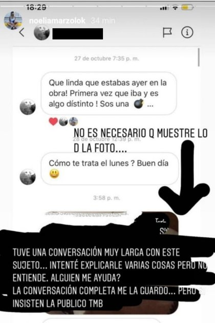 Noelia Marzol (Instagram)