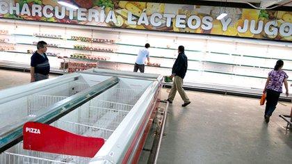 Al problema de la inflación se suma la escasez de alimentos.