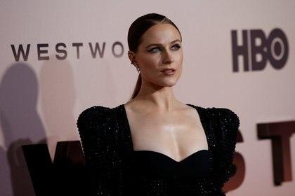 """Evan Rachel Wood posa durante la premiere de la tercera temporada de """"Westworld"""" en Los Ángeles, California (REUTERS/Mario Anzuoni)"""