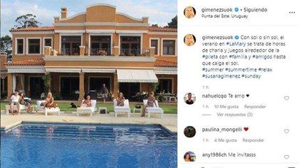 La foto que subió Susana Giménez en La Mary (Foto: Instagram)