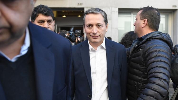 El presidente del PJ Bonaerense e intendente de Esteban Echeverría, Fernando Gray