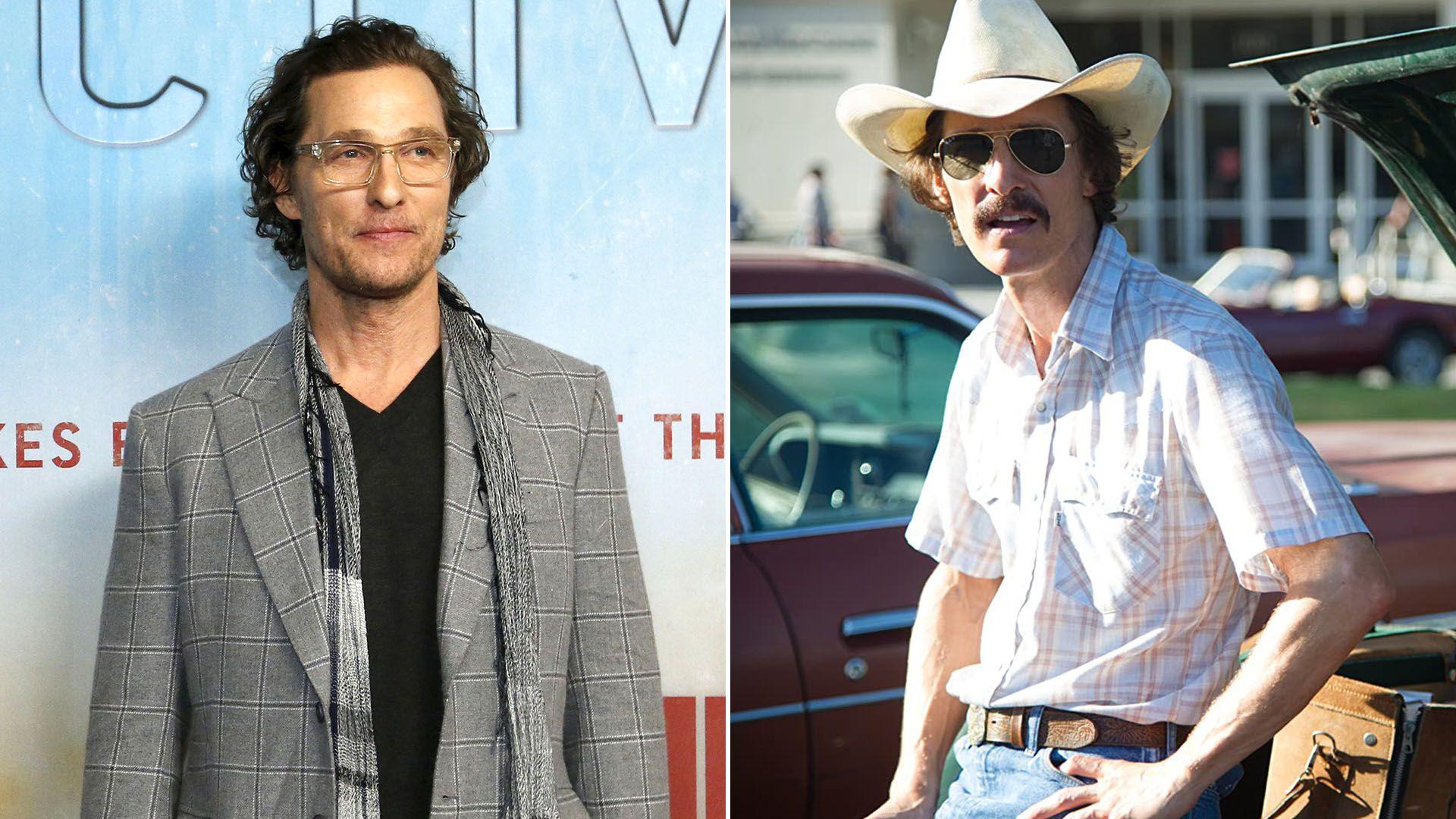 Matthew McConaughey dallas buyer club