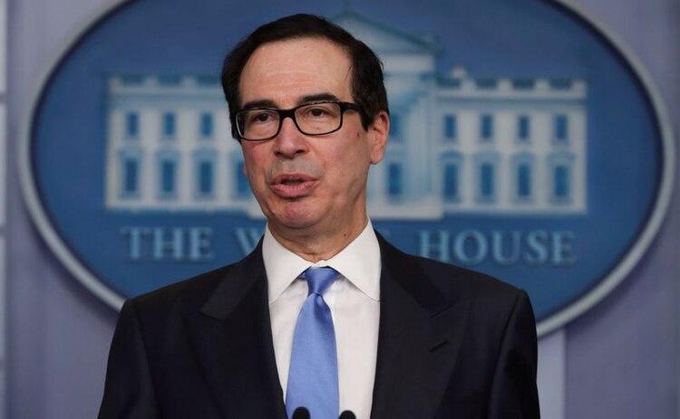 El secretario del Tesoro de EEUU, Steven Mnuchin, dijo que los países del G20 no necesitan una mayor distribución de recursos del FMI
