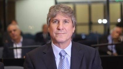 El ex vicepresidente Amado Boudou (Matias Baglietto)