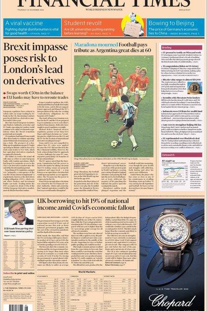 Financial Times, Inglaterra