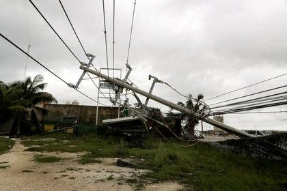 Los daños que ocasionó el huracán Delta en Cancún, Quintana Roo, Mexico October 7, 2020 Foto: REUTERS/Henry Romero