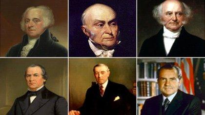 Ex presidentes de Estados Unidos