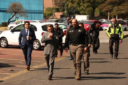 El exgobernador pasó cinco años en la torre femenil del reclusorio (FOTO: ROGELIO MORALES /CUARTOSCURO.COM)