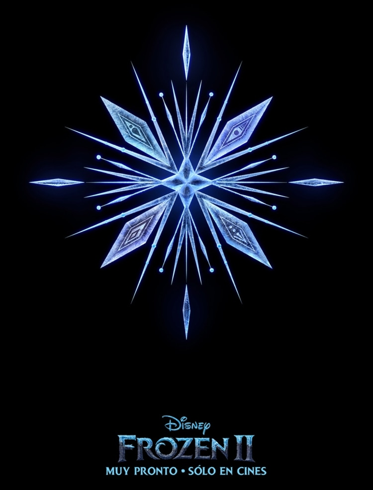 "El póster oficial de ""Frozen 2"""