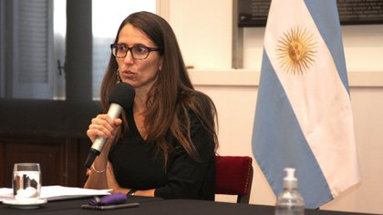 Elizabeth Gómez Alcorta, ministra de las Mujeres, Géneros y Diversidad de la Nación