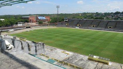 El estadio Guillermo Plazas Alcid le pertenece a la Alcaldía de Neiva y es la casa del club Atlético Huila / (Huilatv.com).