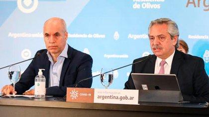 El Presidente decidió sacarle un punto de coparticipación a la Ciudad Autónoma de Buenos Aires