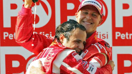 Felipe Massa compartió equipo con Schumacher en 2006 - Reuters 163