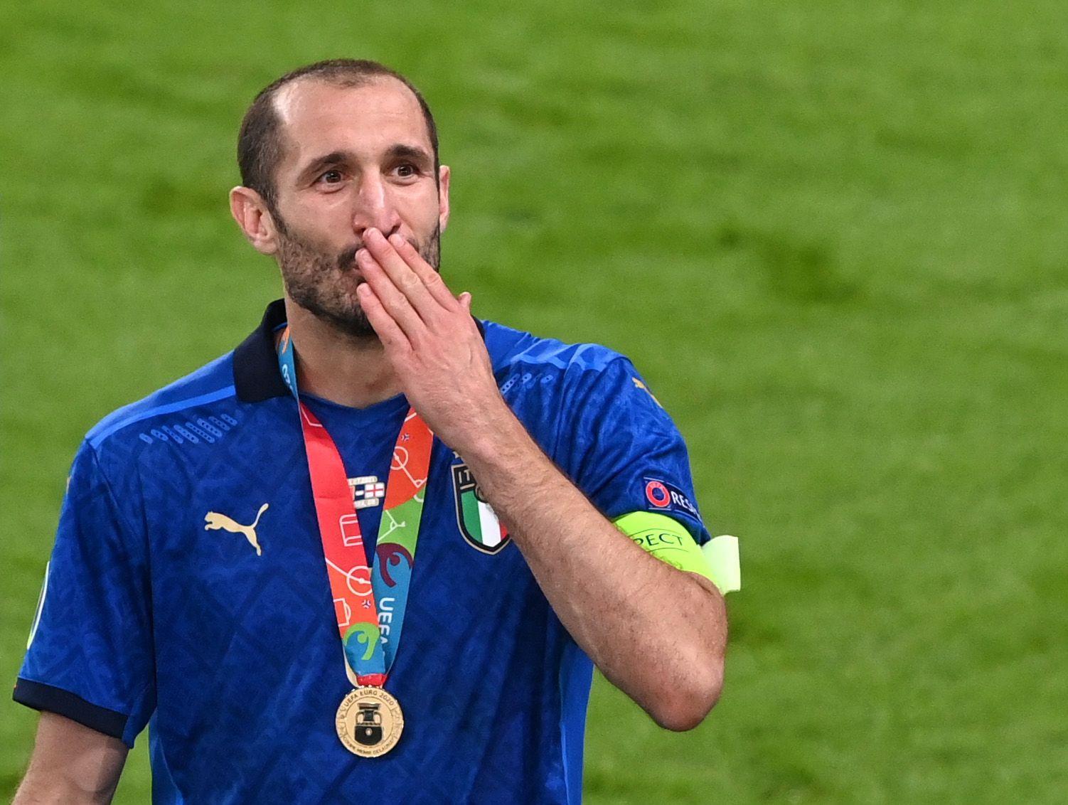 A día de hoy, Chiellini es un agente libre y su prioridad es firmar con la Juventus (Reuters)