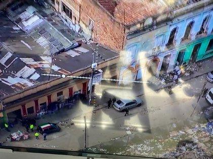 Autoridades de Colombia capturaron a los asesinos de una menor de 15 años en Bogotá de la banda 'Tazmania' en pasado 14 de enero, en en barrio San Bernardo donde han desmontado otras bandas criminales. Foto: cortesía Fiscalía General de la Nación.